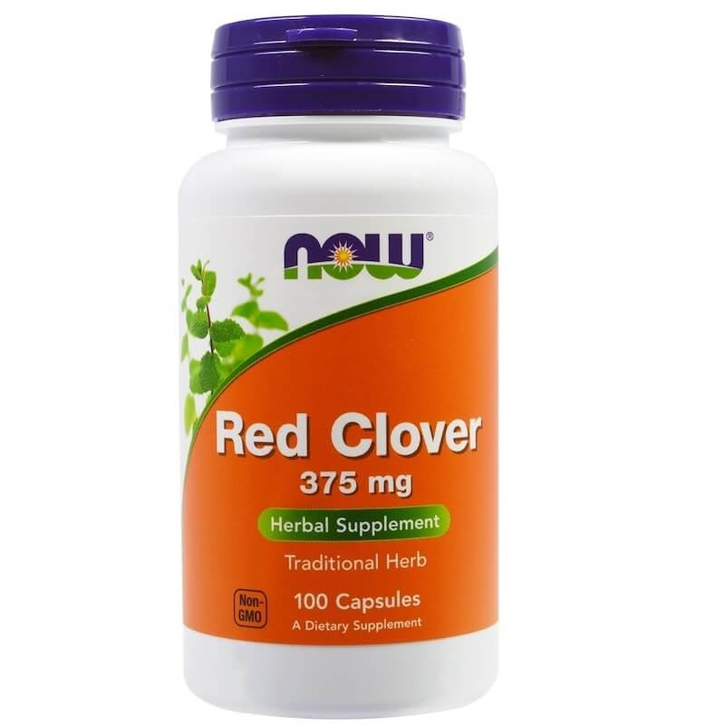 Red Clover 375 mg 100 kaps NOW