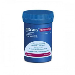 BICAPS RED CLOVER, 60 kaps.